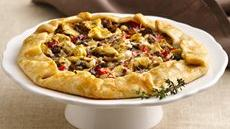 Bistro-Style Onion and Artichoke Galette Recipe