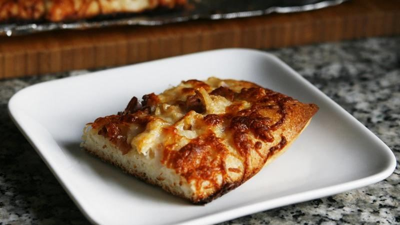 Clams Casino Pizza Pie