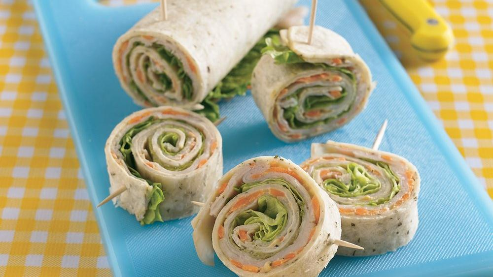 Turkey Dijon Roll-Ups