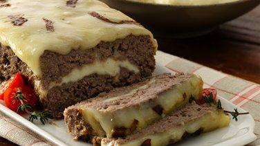 Cheese Stuffed Meat Loaf