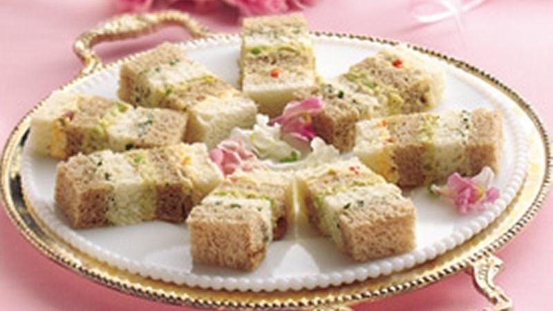 Party Ribbon Sandwiches