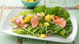 Paleo Gluten-Free Fish Tacos with Mango Salsa