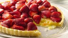 Meyer Lemon and Strawberry Tart Recipe