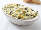 Healthified Spinach Dip with Artichokes