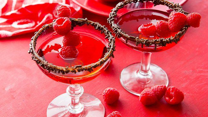 Chocolate Raspberry Martini recipe - from Tablespoon!