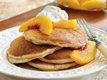 Peach Buttermilk Pancakes