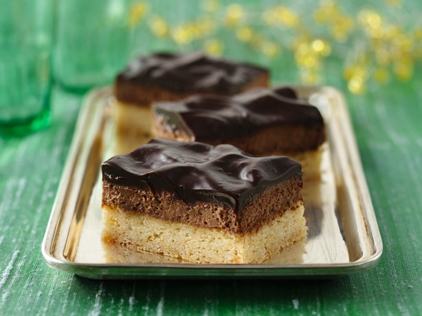 Heavenly Chocolate Mousse Bars