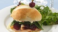 Turkey-Cranberry Petite Sandwiches Recipe