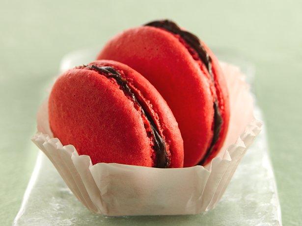 ... Macarons with Bittersweet Chocolate Ganache recipe from Betty Crocker