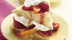 Strawberry and Nectarine Shortcakes Recipe