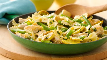 Chicken and Vegetable Pasta Skillet