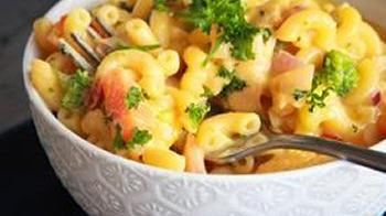 Chick 'n Veggie Mac 'n Cheese