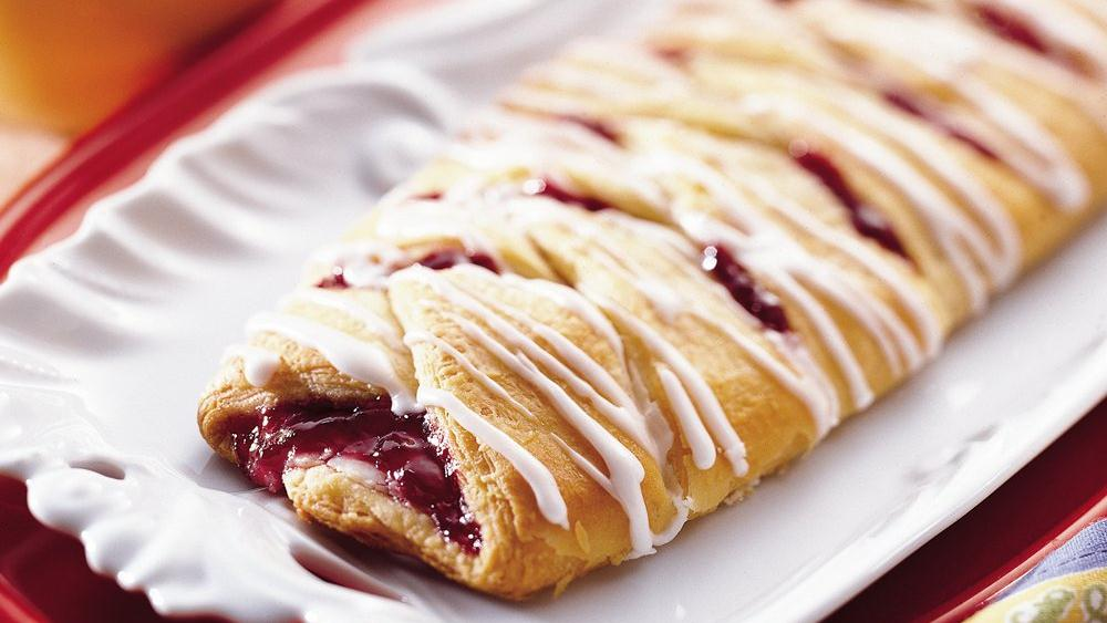Cherry Cream Crescent Coffee Braid recipe from Pillsbury.com