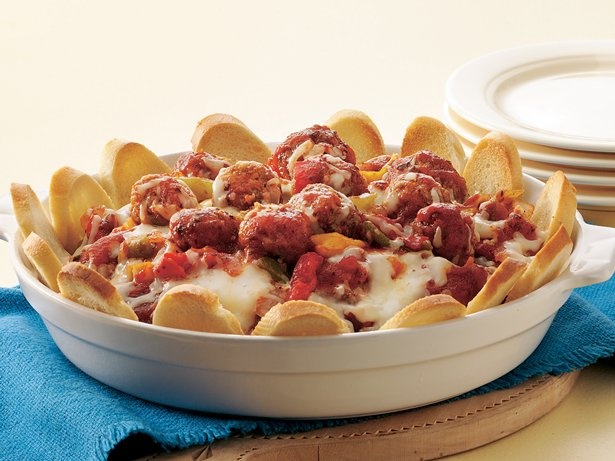 Meatball Sandwich Casserole