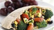 Healthified Veggie Salad in a Pocket