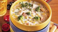 Chicken and Vegetable Chowder Recipe