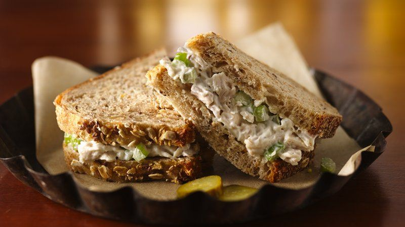 Chicken Salad Sandwiches recipe from Betty Crocker