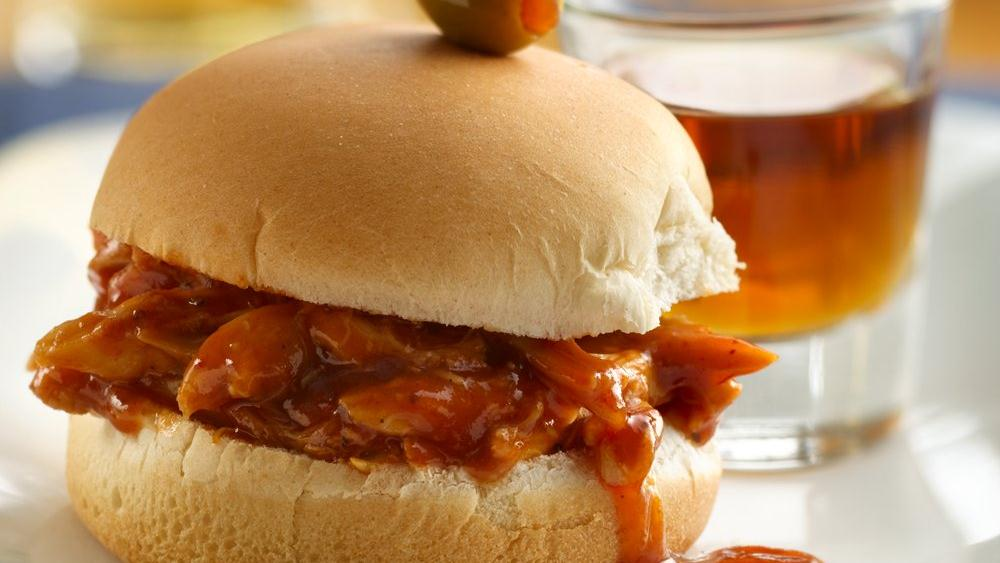 Spicy Whiskey BBQ Sliders Recipes — Dishmaps