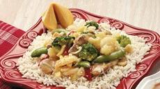 Luau Pork Stir-Fry Recipe