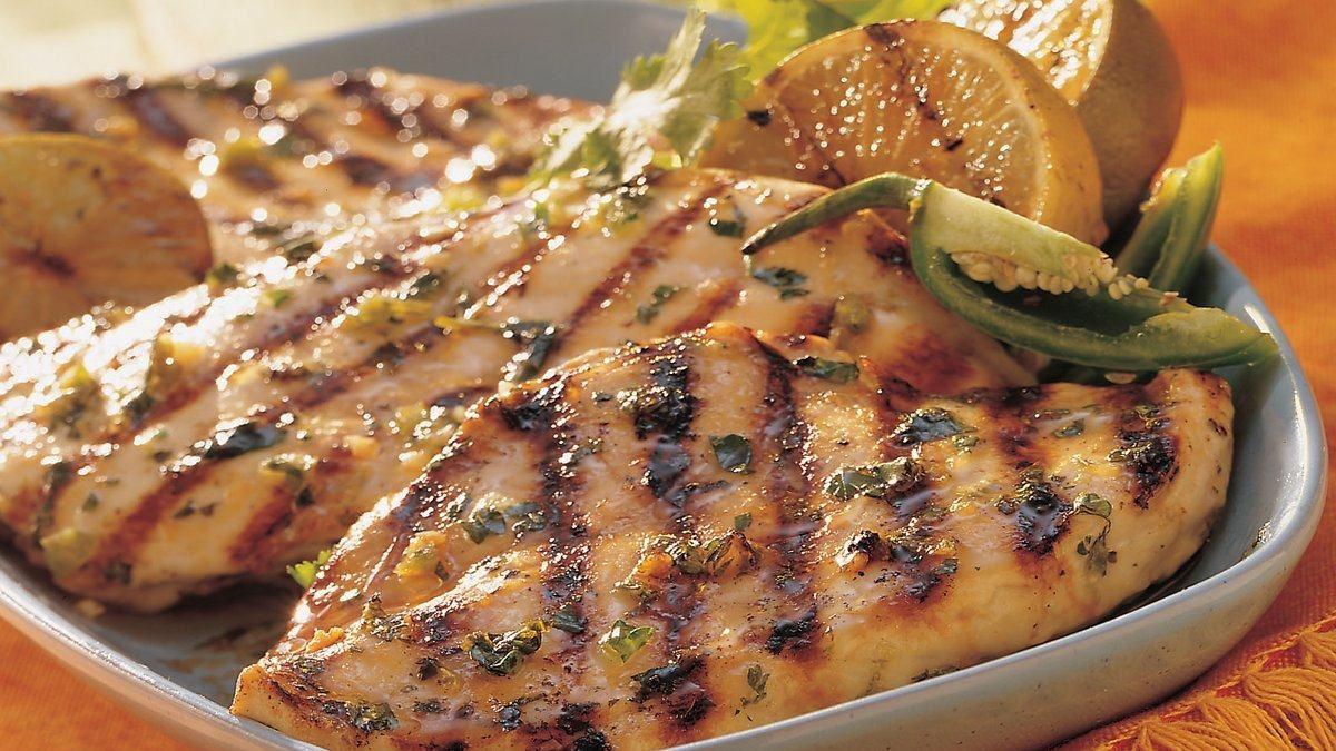 Poulet grill au chili et la lime vivre d licieusement - Poulet grille au barbecue ...