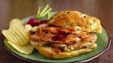 Slow Cooker Sliced Pork BBQ Sandwiches Recipe