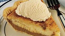 Pennsylvania Dutch Cake and Custard Pie Recipe