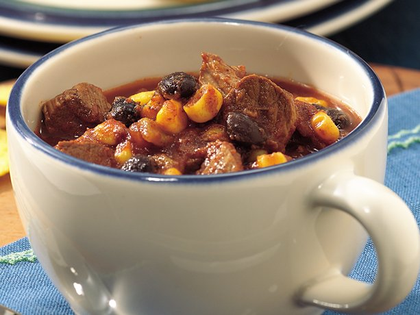 Slow-Cooker Beef And Black-Bean Chili Recipes — Dishmaps