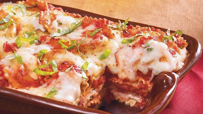 lasagna ravioli and italian sausage ravioli lasagna a quick do ahead ...