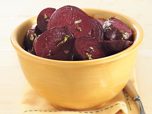 Roasted Beets with Balsamic and Olive Oil