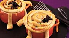 Spiderweb Pot Pies Recipe