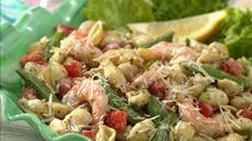Pesto Shrimp and Shells Salad Recipe