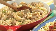 Skillet Meatball Goulash Recipe