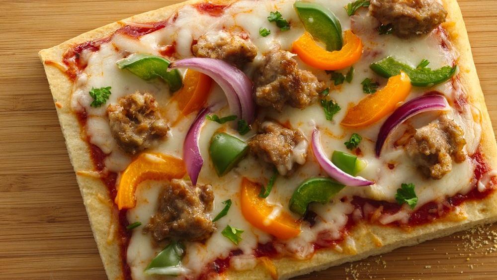 Italian Sausage Pizza