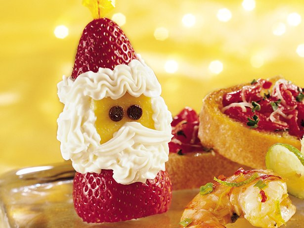 Strawberry Santas