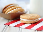 Snickerdoodle Sandwich Cookies
