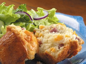 Ham&#32;and&#32;Cheese&#32;Muffins