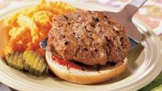 Terrific Turkey Burgers Recipe