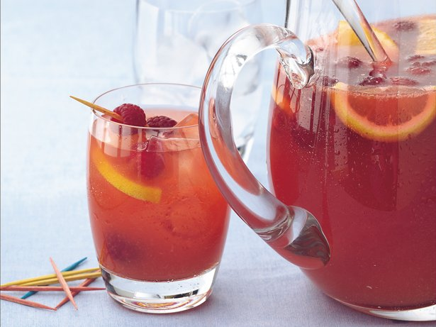 Raspberry-Apricot Sangria
