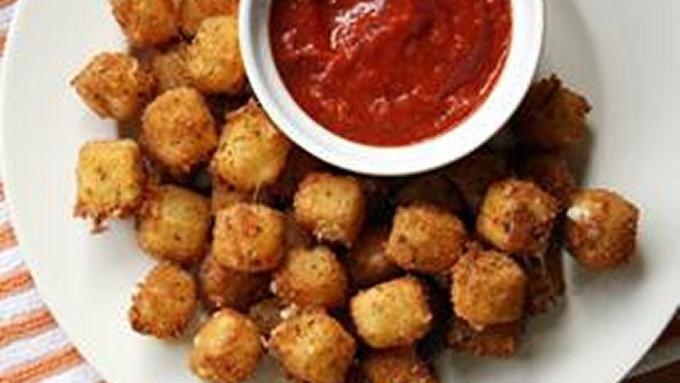 Fried Mozzarella Cheese Balls recipe - from Tablespoon!
