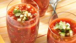 Gluten Free Fire Roasted Tomato Gazpacho