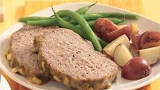 Mustard-Glazed Meat Loaf Recipe