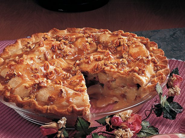 Image of Apple Praline Pie, Betty Crocker
