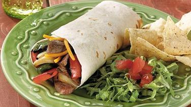 Beef Kabob Roll-Ups