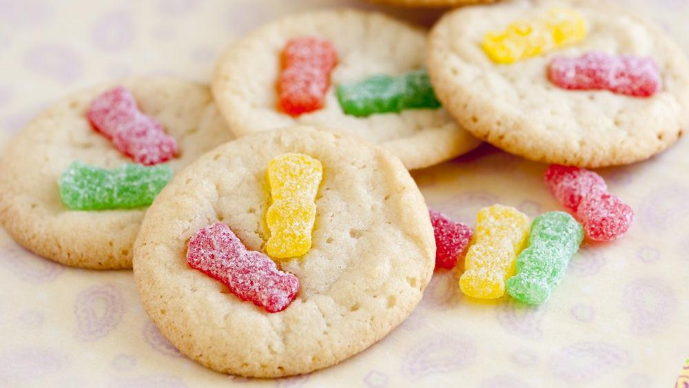 Sour Candy Cookies