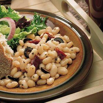 White Bean, Herb and Tomato Salad recipe from Betty Crocker