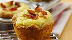 Bacon Quiche Biscuit Cups Recipe