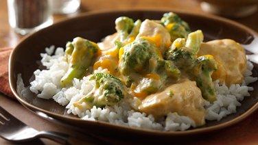 Cheesy Chicken and Broccoli