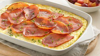 Brunch Oven Omelet with Canadian Bacon