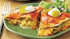 Stove-Top Chicken Enchilada Lasagna Recipe