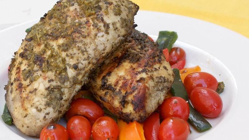 Grilled Chimichurri Chicken